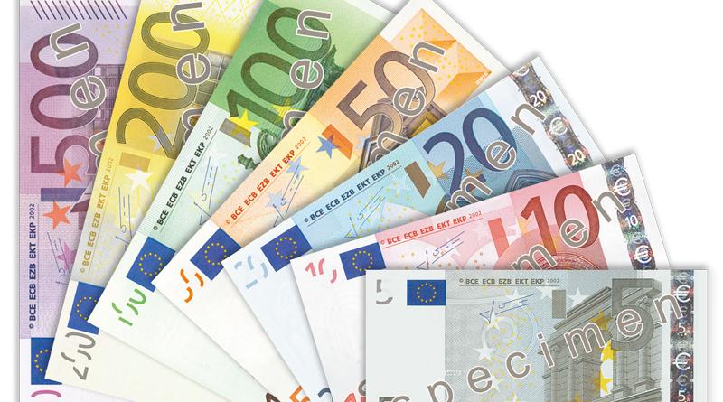 Eurogeldscheine - Muster